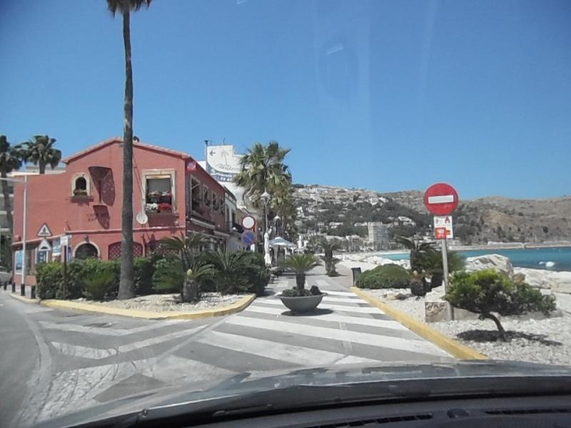 Allée du port à Xabia